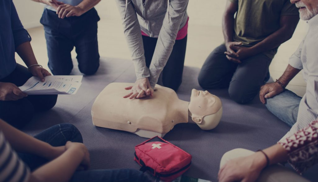 Emergency First Aid At Work Group Booking